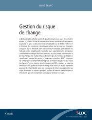 Gestion du risque de change - Livre blanc - EDC