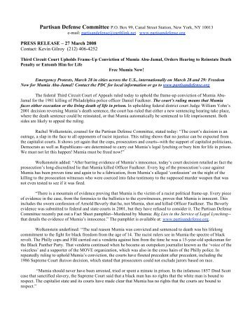 PRESS RELEASE – 27 March 2008 Contact: Kevin Gilroy (212) 406 ...