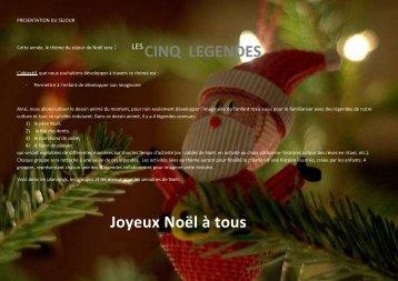 CINQ LEGENDES Joyeux Noël à tous - Dreux.com