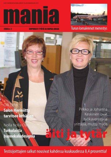 äiti ja tytär - Manialehti.fi