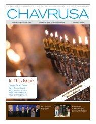 In This Issue - YU Torah Online