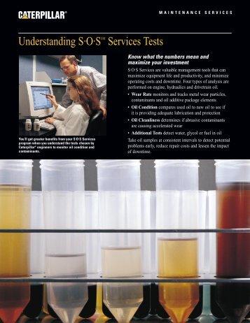 Understanding SOS Service Tests - PEHP7076-02