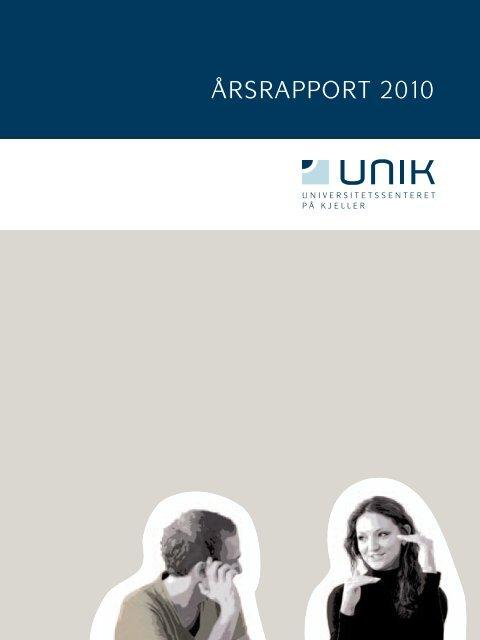 Årsrapport 2010 - Unik