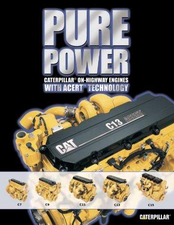ACERT engine brochure - Toromont CAT