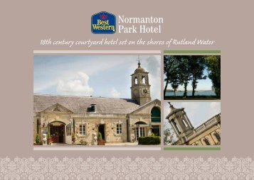 18th century courtyard hotel set on the shores of Rutland Water
