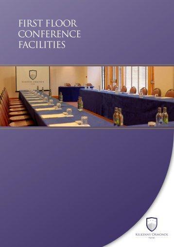 FIRST flOOR CONFERENCE FACILITIES - Kilkenny Ormonde Hotel
