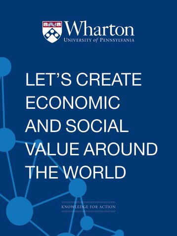 Browse brochure - The Wharton School of the University of ...