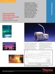 Thermo Scientific iCAP 6000 Series Temperature controlled spray ...