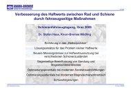 P.Spiess, S.Haas -  Schienenfahrzeugtagung Graz