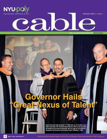 "Governor Hails ""Great Nexus of Talent"" - Polytechnic University"