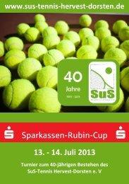 TUS Flyer neu.indd - SUS Tennis Hervest Dorsten