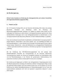 Gesetzesentwurf zur Änderung des Vertragsarztrechtes - Kardionetz ...
