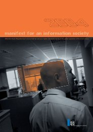 manifest for an information society - ICT unie