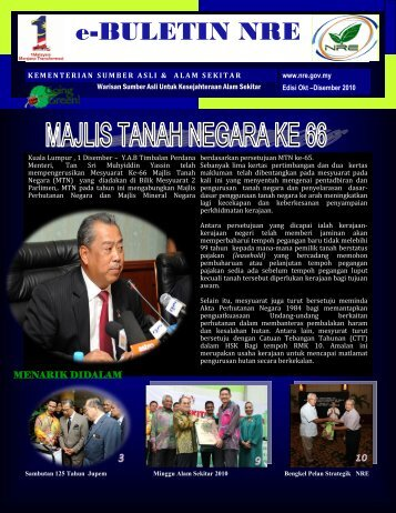 eBuletin NRE Edisi Okt Dis 2010
