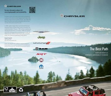The Best Path - Chrysler Careers
