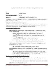 CAT RFP 2013-04, Addendum 2 February15, 2013 Page 1