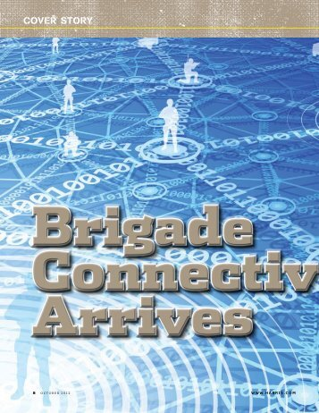 Brigade Connectivity Arrives in Capability Set 13 - Harris Corporation