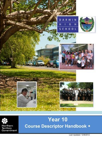 Year 10 - Darwin High School
