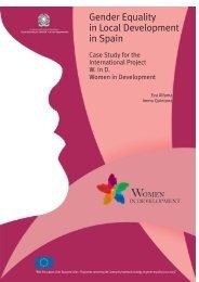 Gender Equality in Local Development in Spain - Rete Pari ...