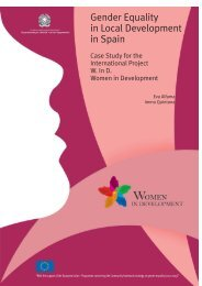 Gender Equality in Local Development in Spain - Rete Pari ...