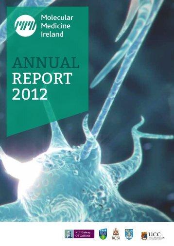 ANNUAL REPORT 2012 - Molecular Medicine Ireland