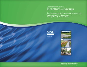 Green Infrastructure Incentives Program - MSD