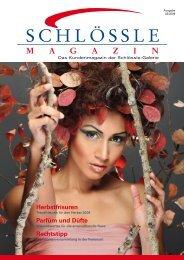 Das Kundenmagazin (PDF, 2,1 MB) - Schlössle-Galerie