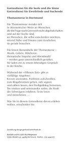 Thomasmesse Dortmund, Programmflyer - Page 3