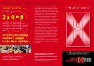 2 x 4 = 8 - Deutsche Gesellschaft für Unfallchirurgie