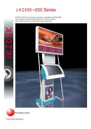i KIOSK-200 Series - Interactive Systems