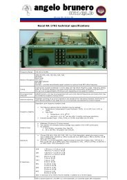 Racal RA 1792 technical specifications - AIR