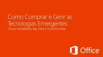 redes sociais - Tech Data