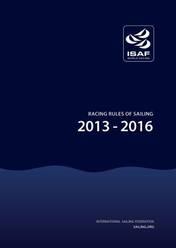racing rules of sailing 2013 - 2016