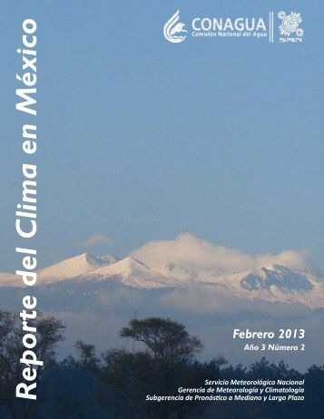 Febrero - Servicio Meteorológico Nacional. México.