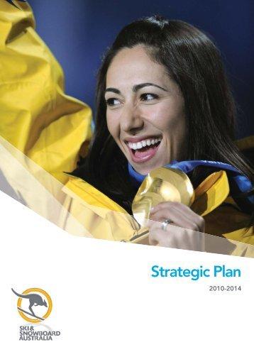 SSA Strategic Plan 2010-2014 - Ski & Snowboard Australia
