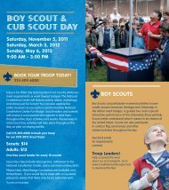 BOY SCOUT & CUB SCOUT DAY - National Constitution Center