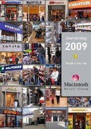 Jaarverslag 2009 interactief - Macintosh Retail Group