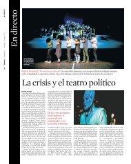 La crisis y el teatro político - Rimini Protokoll