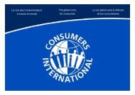 Protecting Consumers Interests in e-Commerce - Global Business ...