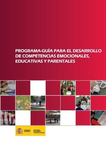 Programa guia para el desarrollo de competencias emocionales, educativas y parentales