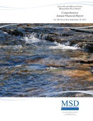 Download Comprehensive Annual Financial Report 2012 - MSD