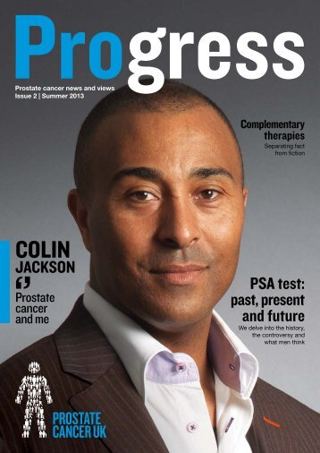 Download a copy of our Summer 2013 issue [PDF] - Prostate ...