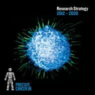 Research Strategy 2012 – 2020 - Prostate Cancer Charity