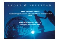 M31A-14 - Growth Consulting - Frost & Sullivan