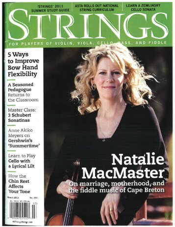 Strings article