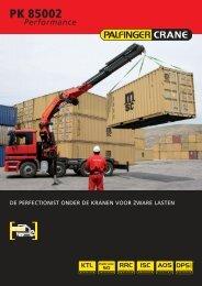 Brochure PK 85002 - Palfinger