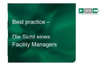 Best practice Best practice – Die Sicht eines Die Sicht ... - energytalk