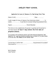 leave of absence request form - shareIT