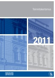Finanssivalvonnan toimintakertomus 2011 - Finanssivalvonta