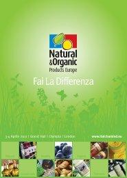 Brochure Natural & Organic Products 2011 (pdf) - The Italian ...